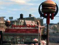 GTA IV Burger Shot
