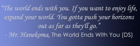 The World Ends With You Quote